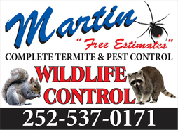 Lake Gaston pest control by Martin Exterminating